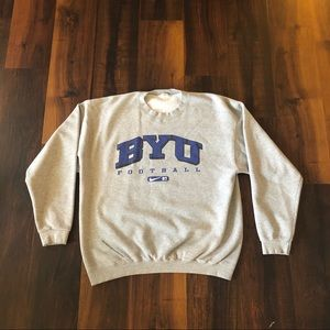 Vintage Nike BYU Brigham Young University Crewneck